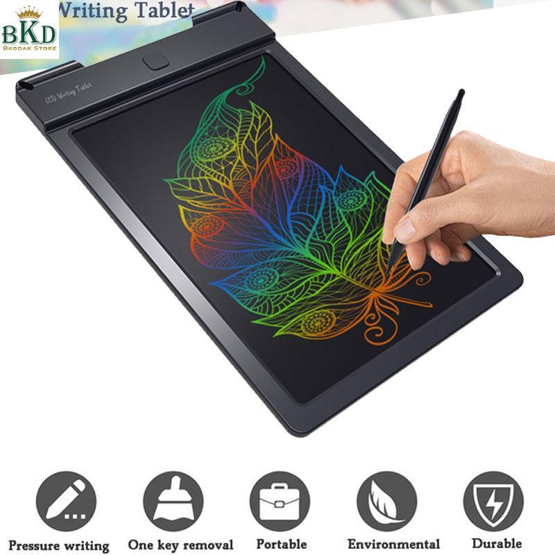 Bkodak Store LCD 9 Inches Color Drawing Pad Handwriting Pads Writing Board
