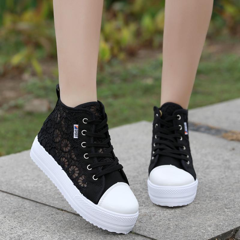 Korean-style spring and summer New style shoes, canvas shoes Singapore