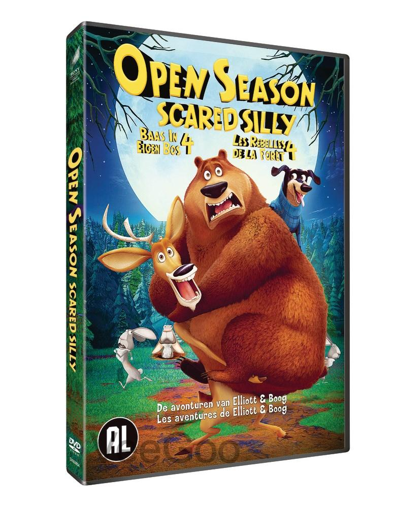 OPEN SEASON SCARED SILLY 2015 DVD (PG/C3)
