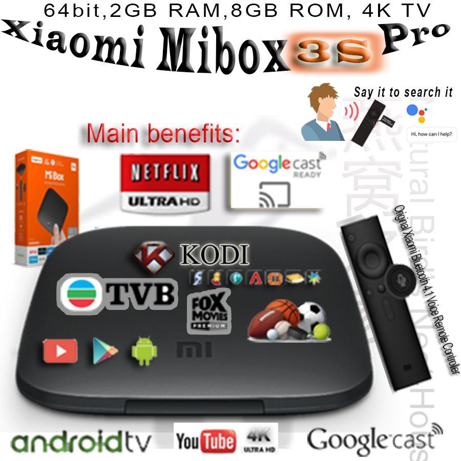 Buy High Quality Media Players Online Flashdisk V Gen Astro 64 Gb 20 Original Xiaomi Mi Box 8th 3s Pro Global Version Android 80 4k