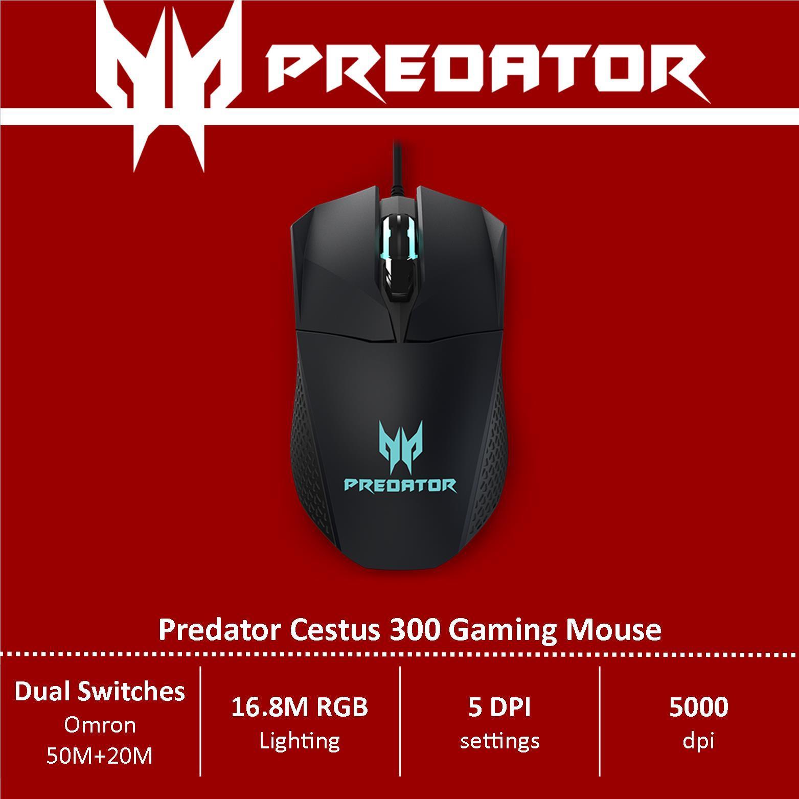Predator Cestus 300 Gaming Mouse (Gaming Gadget)
