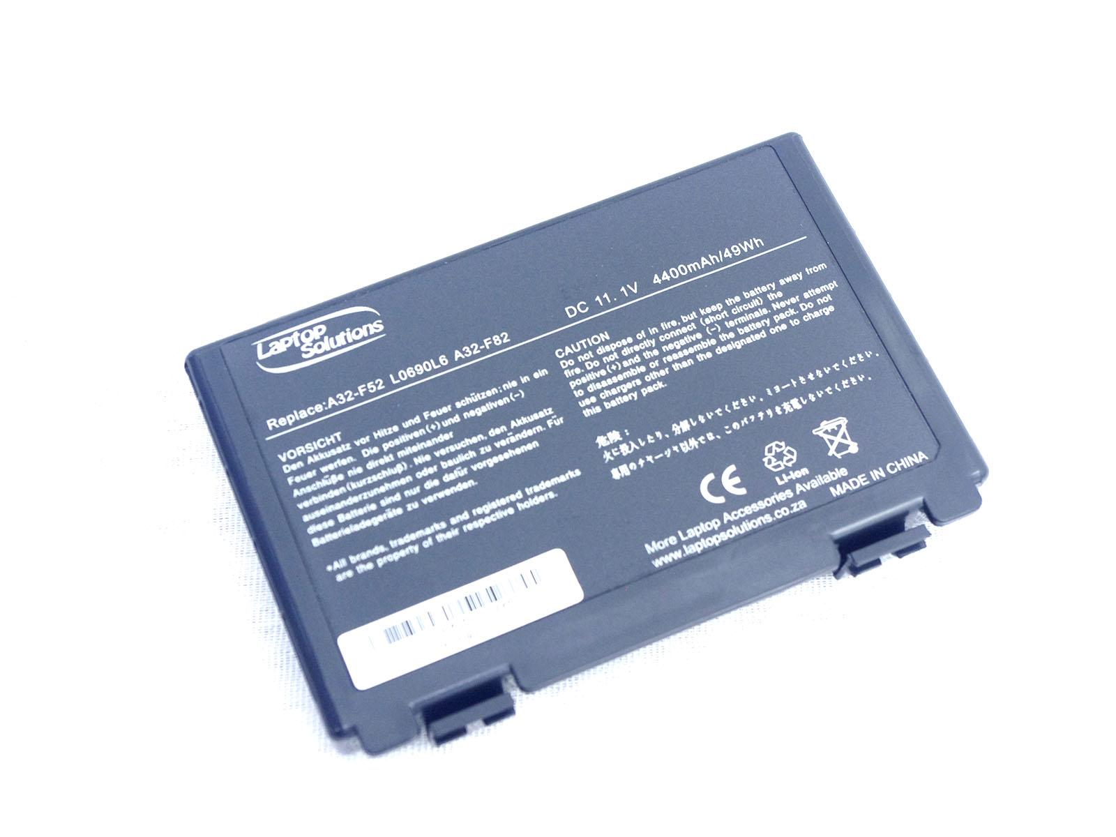Replacement Laptop Battery for ASUS F82-A32