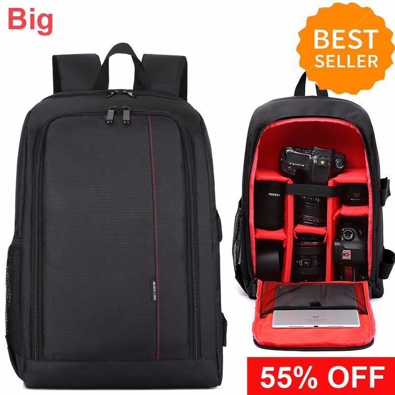 Price Comparisons For Multi Compartment Waterproof Photography Camera Package Backpack Bag