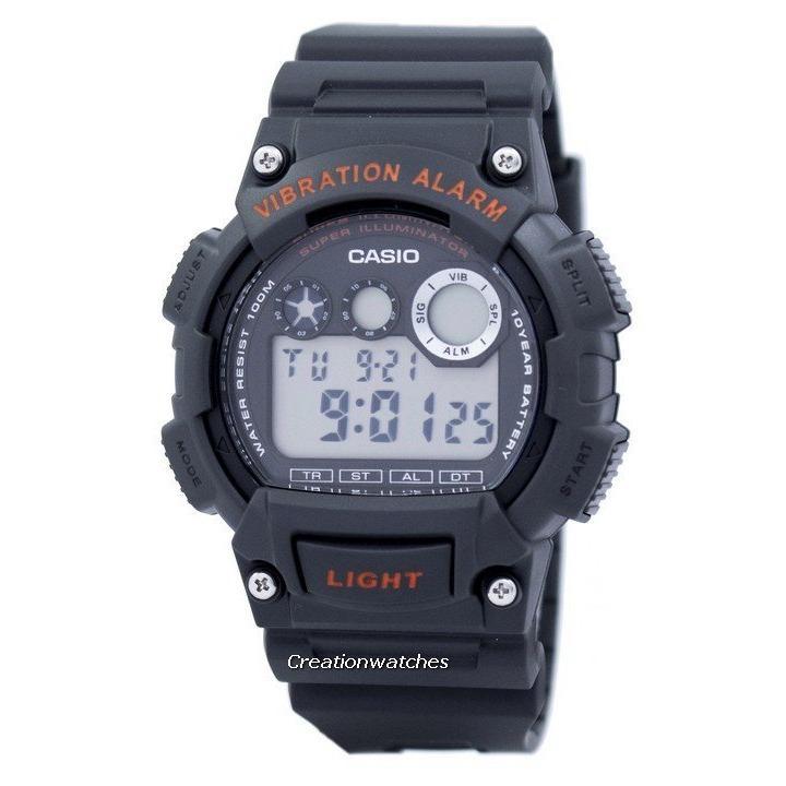 Review Casio Digital Vibration Alarm Illuminator Men S Strap Watch W 735H 8Avdf Singapore