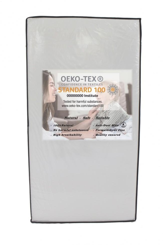 Beblum Oeko-Tex Mattress (130cm x 70cm x 10cm) and (120cm x 60cm x 10cm)