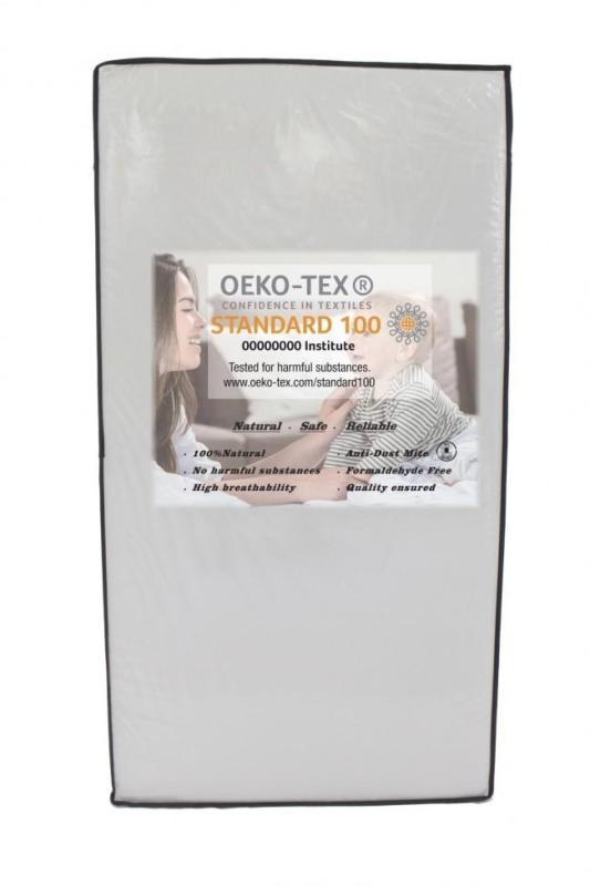 Beblum Oeko-Tex Mattress (130cm x 70cm x 10cm) and (120cm x 60cm x 10cm)