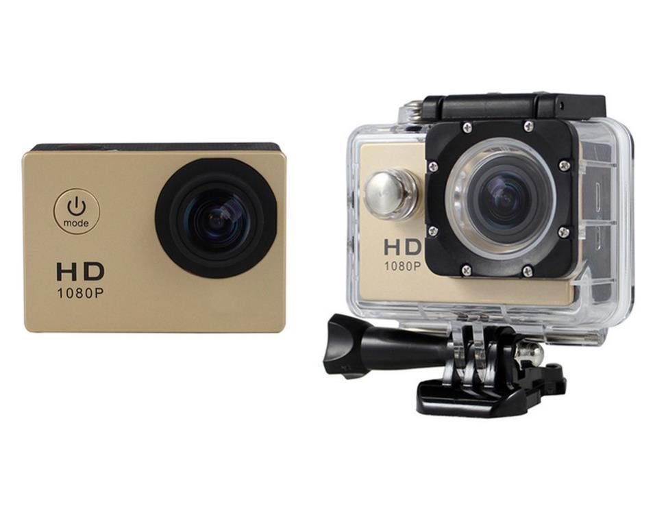 Sports Cam * Go Pro Desigh N Style * 480p Full Hd * 30m Waterproof * 170 Deg Wide-Angle * 2 Inch Lcd * For Sports Hiking Motorcycle Cars * Android And Ios * Micro Sd Record * No Hidden Cost By Papylon Enterprise Pte Ltd.