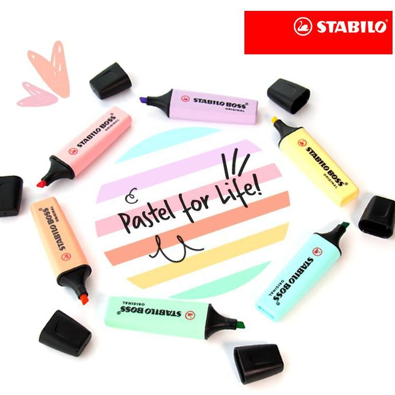 Stabilo Boss Pastel Highlighters Set Of 6 Deal