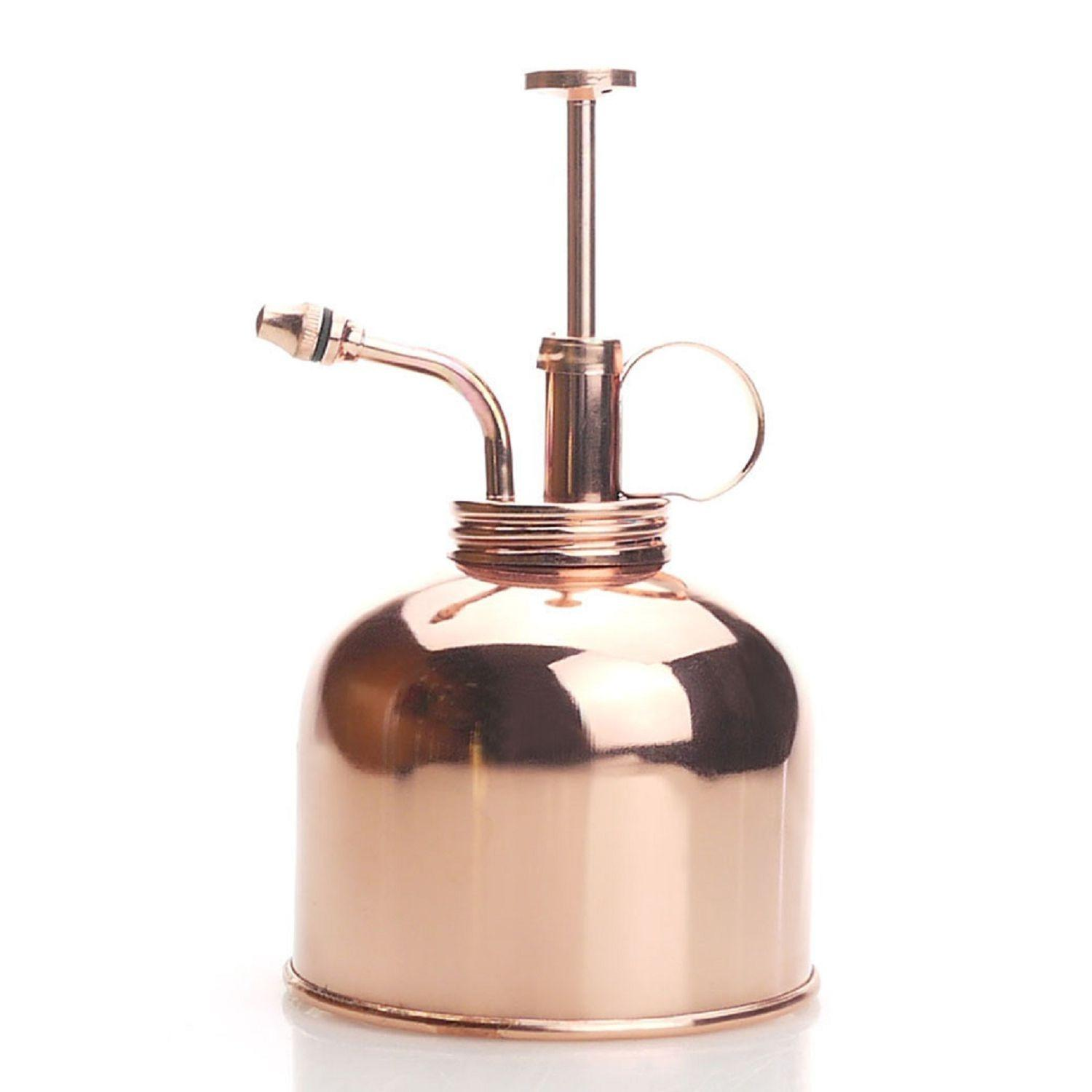 Wholesale Purism Style Plant Mister Brass Sprayer Rose Gold Color