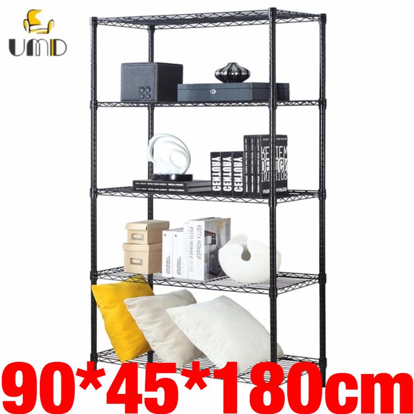 Purchase Anti Rust Heavy Duty Height Adjustable Steel Rack Storage Rack