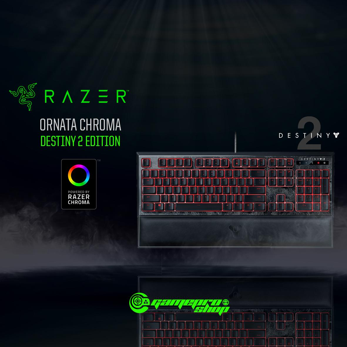 Destiny 2 Razer Ornata Chroma - Multi-color Membrane Gaming Keyboard  Singapore