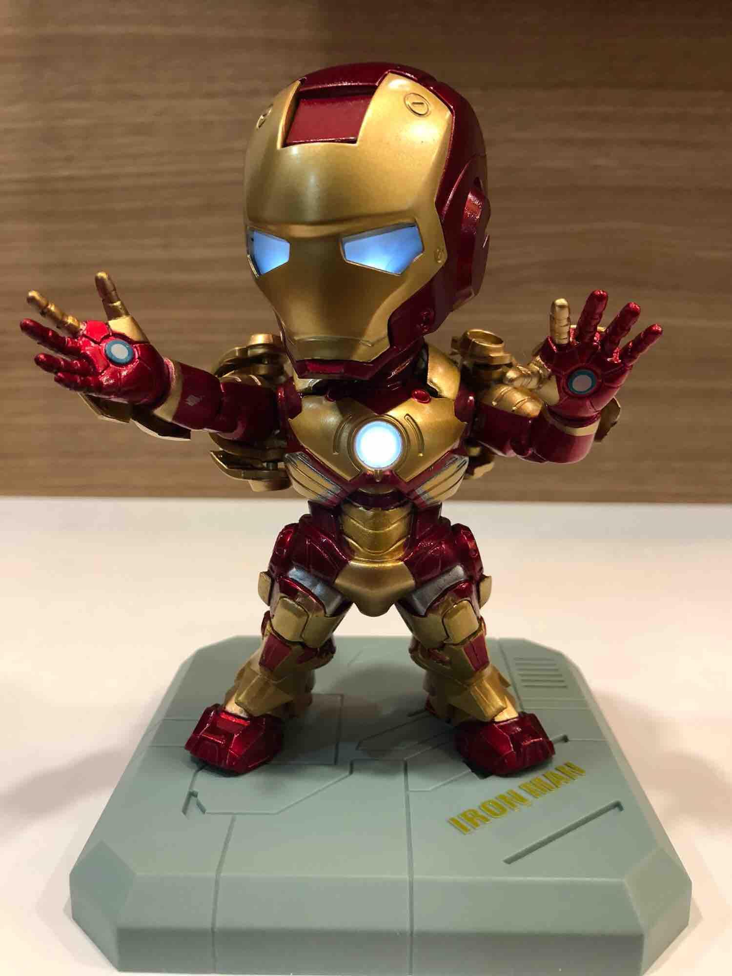 Marvel Legend Iron Man Mark III with LED Light
