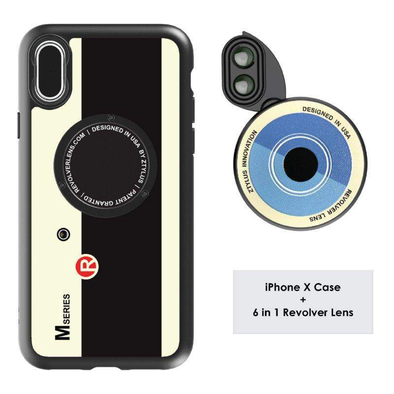 Retail Ztylus Revolver M6 Lens Kit Camera For Apple Iphone X
