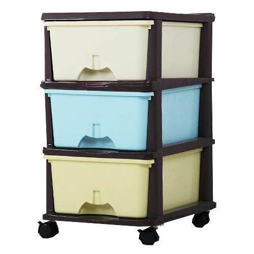 JIJI (FREE Installation) Colourful Storage Drawers (Plastic Storage) - Bedroom Furniture / Space Savers / Drawer (SG)