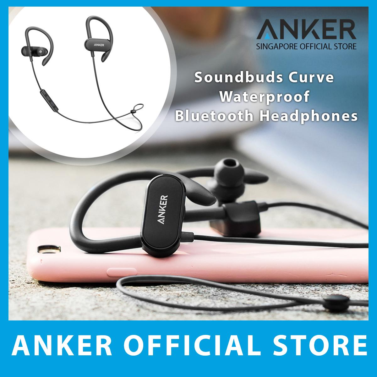 Compare Price Anker Soundbuds Curve Waterproof Bluetooth Headphones Anker On Singapore