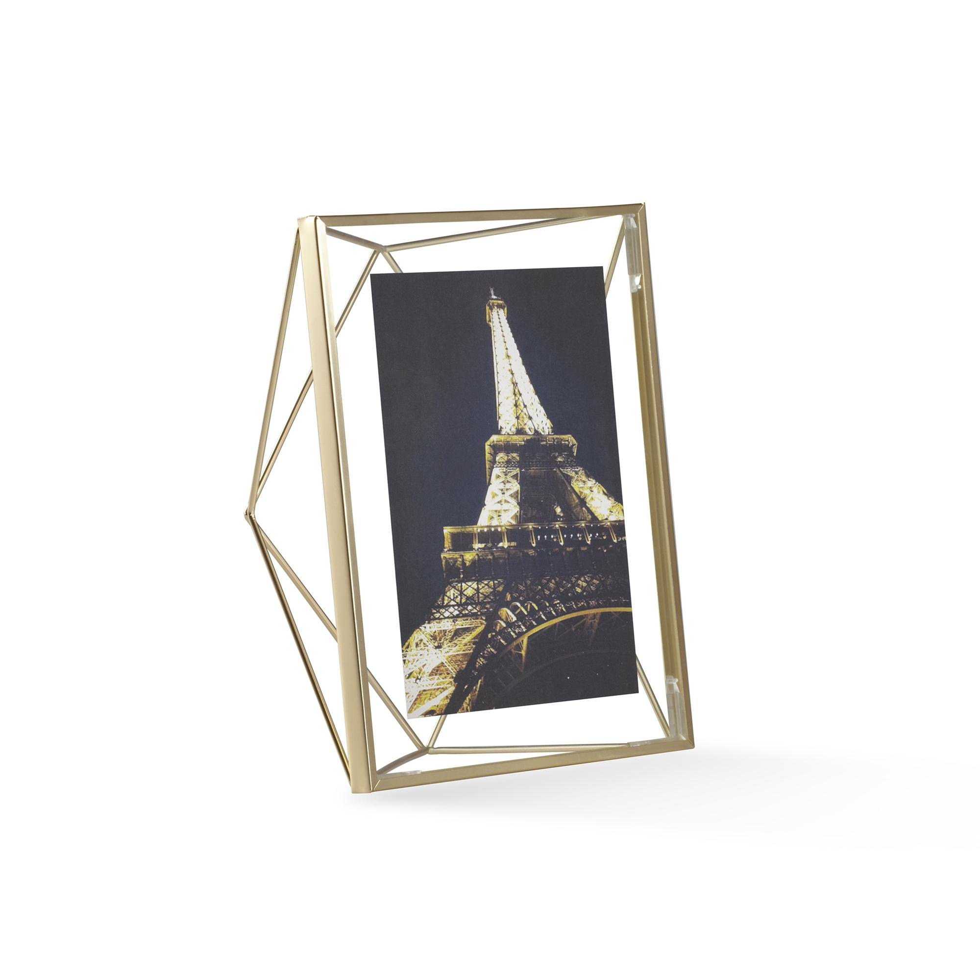 Umbra Prisma Photo Frame 5 x 7 - Matte Brass