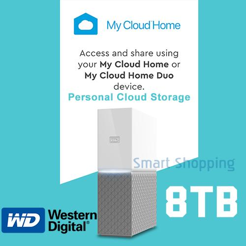 WD MyCloud Home 8TB Personal My Cloud Backup Storage Gigabit Lan USB 3.0 NAS Warranty by WD SG