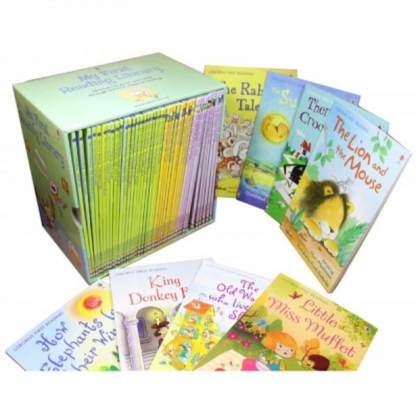 [SG SELLER] [50 BOOK] My first reading library By Usborne