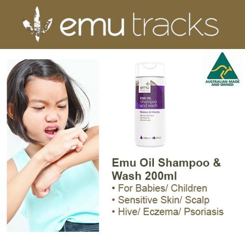 Buy Emu Tracks Emu Oil Shampoo & Wash (Suitable for Babies & Adults) 200ml Singapore