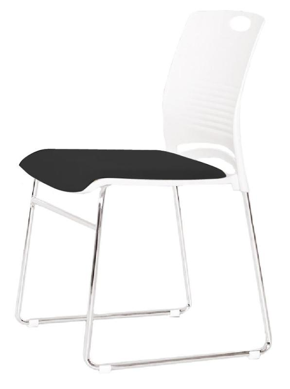 JIJI (TESSA Commercial Conference Stacking Chair) (Free Installation) / Conference Room Chair / Meeting Room Chair / Office Chair / Stacking Chair / Stackable Chair / 6 Month Warranty / (SG) Singapore