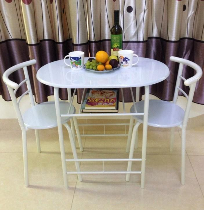 New Style Couples Dining Tables And Chairs Set Small Apartment Dining Tables And Chairs Double Table A Table with Two Chairs Kitchen Easy to Table