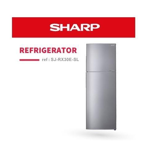 Sale Sharp Sj Rx30E Sl 224L 2 Door Refrigerator Sharp Wholesaler