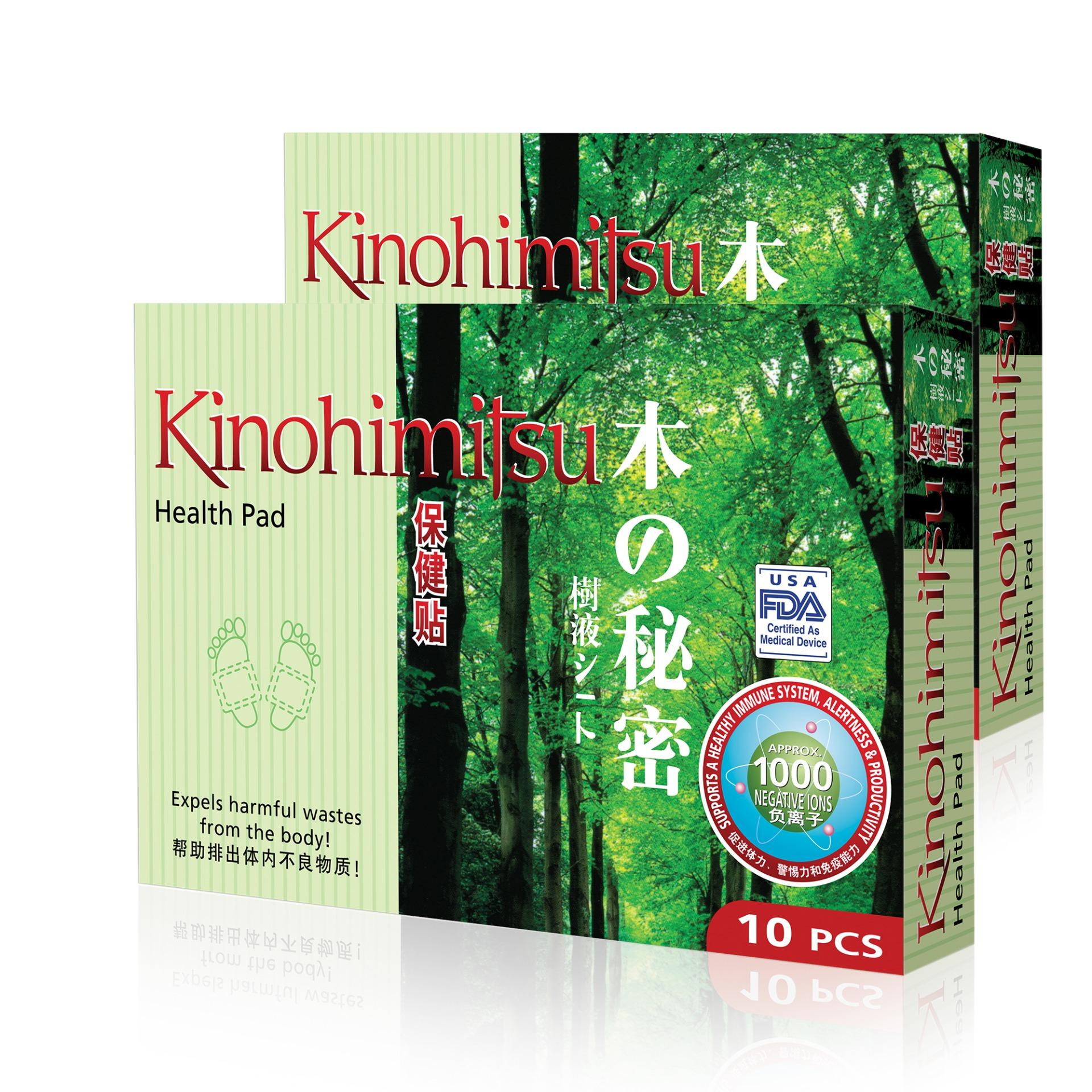 Cheapest Kinohimitsu Health Pad 10 S Twin Pack Online