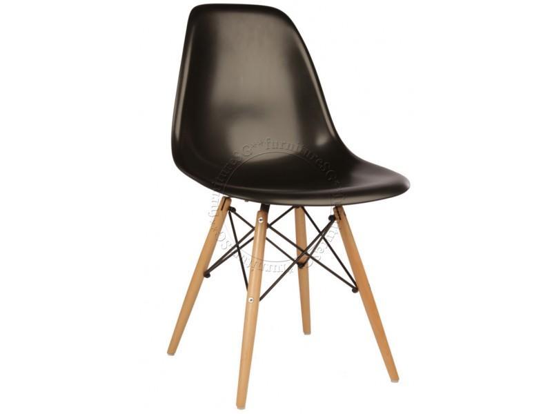 Designer Eames Chair Wooden Leg (Set of 4)