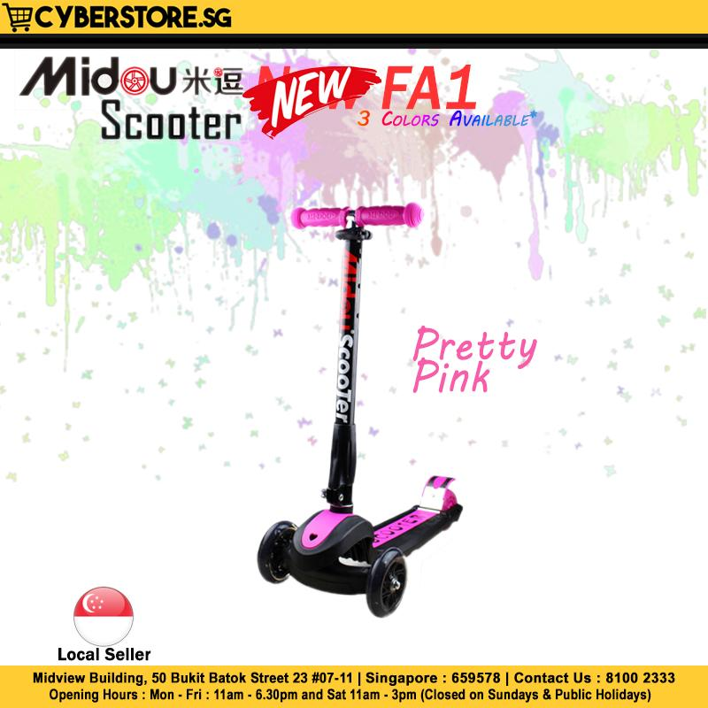 Midou Scooter New Fa1 By Cyberstore.sg Pte Ltd.