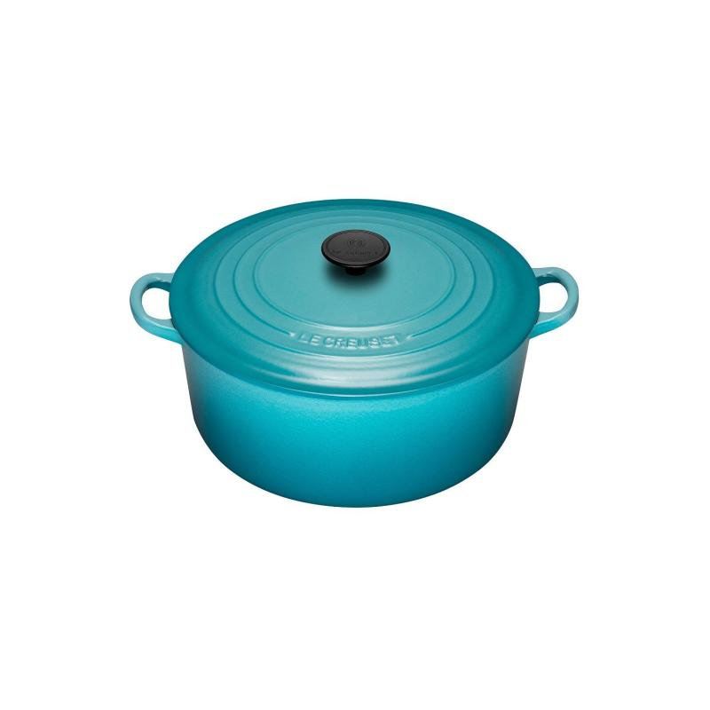 Le Creuset Cast Iron Round French Oven 22cm, Classic (Caribbean Blue) Singapore