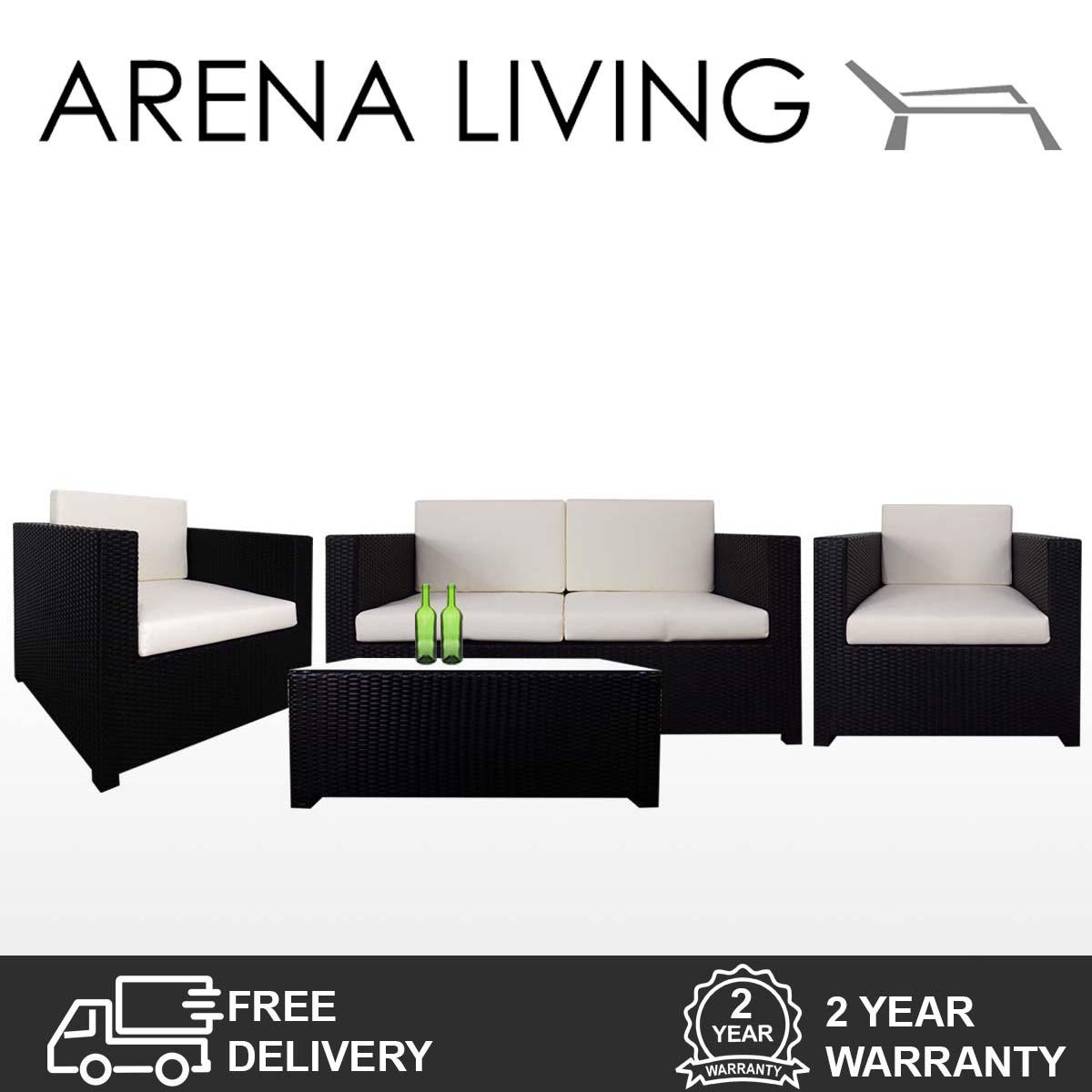 Who Sells Fiesta Sofa Set Ii White Cushions Outdoor Furniture By Arena Living™