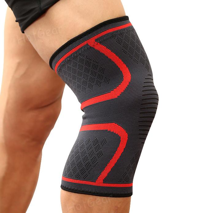 847e483a73 Compression Knee Guard Breathable Anti Slip Elastic Knees Brace Support  Sleeve Stabilizer Wraps Pads Sleeves for