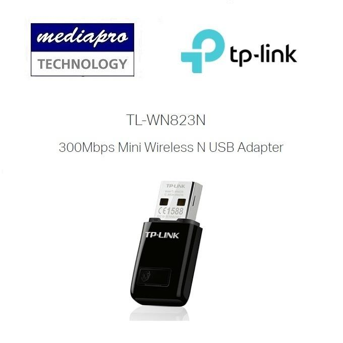 Tp Link Tl Wn823N 300Mbps Mini Wireless N Usb Adapter 3 Year Warranty By Local Agent Wn823N Shopping