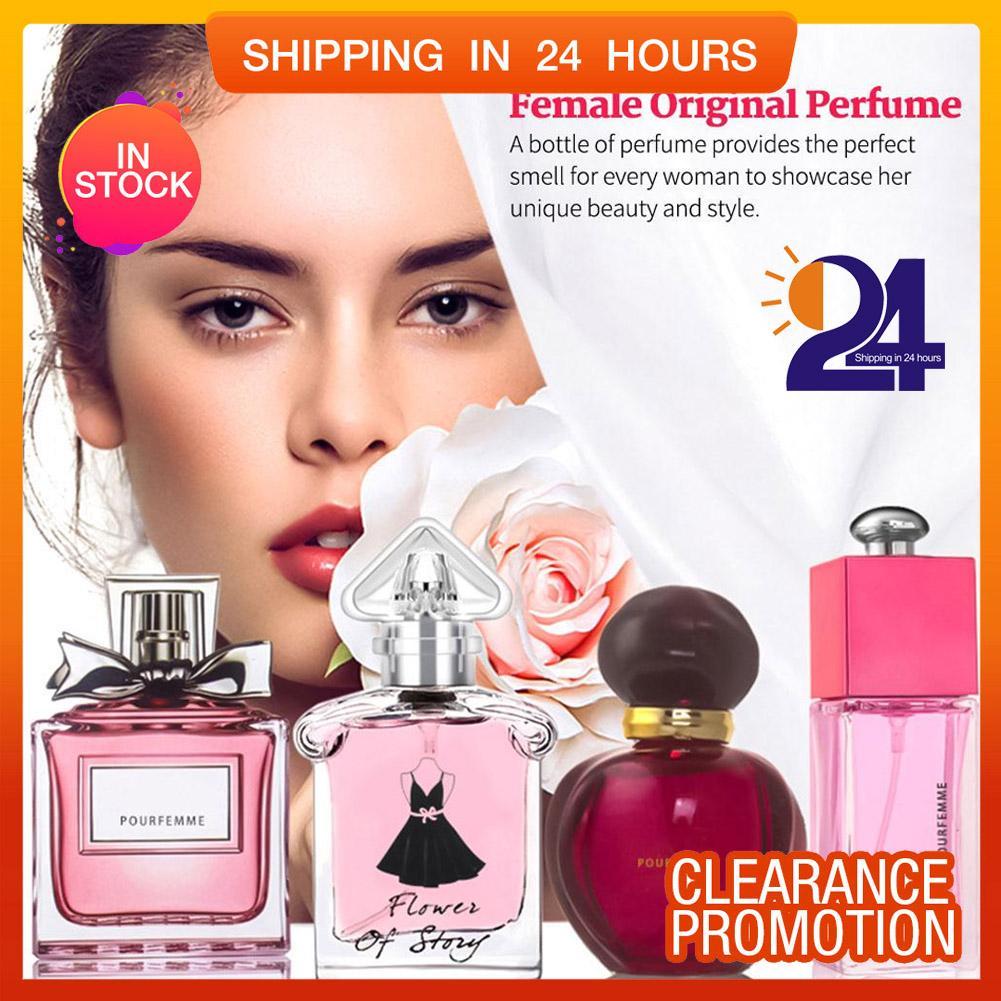 【hot Sale】1set Female Original Perfume Atomizer Perfume Bottle Lady Flower Fragrance Gift Box - Intl By Highfly.