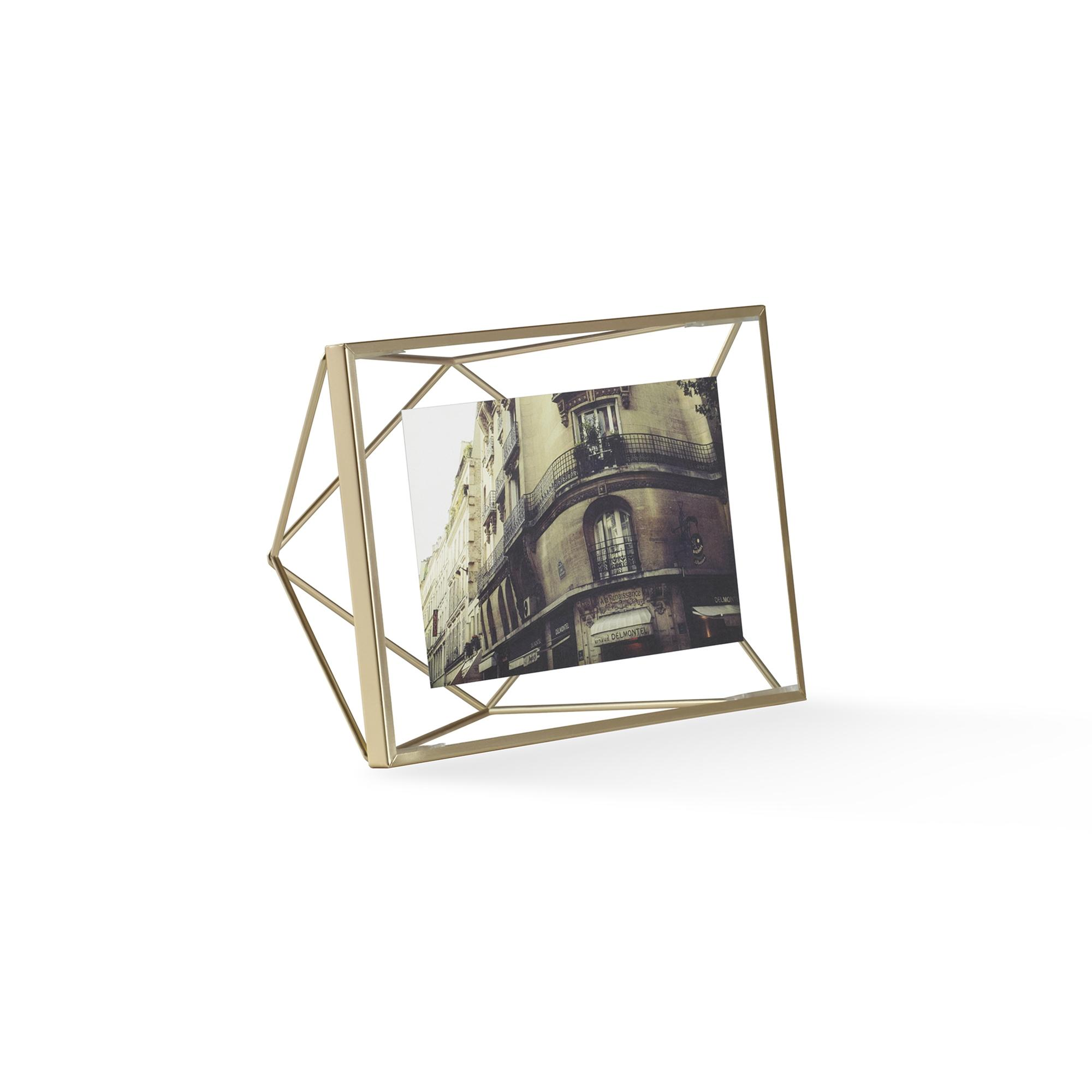 Umbra Prisma Photo Frame 4 x 6 - Matte Brass