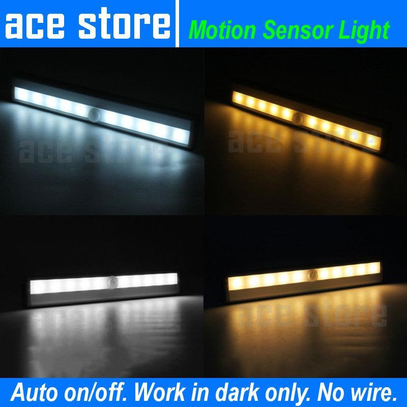 Review Led Motion Sensor Night Light Battery Model Cool White Ace Store On Singapore