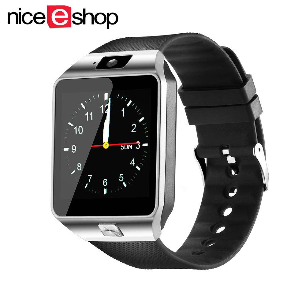 Sale Niceeshopdz09 Smartwatch Bluetooth Smart Watch With Sim Card Slot For Android Phone Silver Black China Cheap
