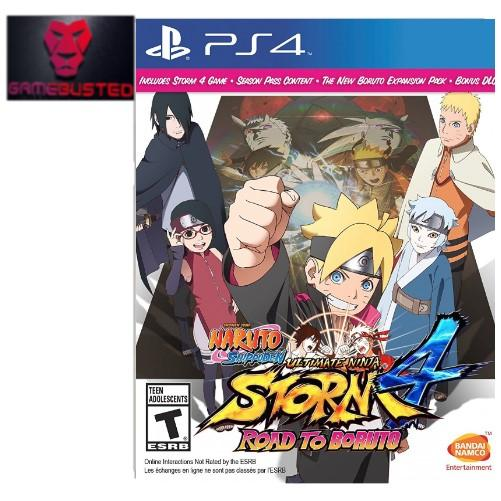 Best Offer Ps4 Naruto Shippuden Ultimate Ninja Storm 4 Road To Boruto R1 All