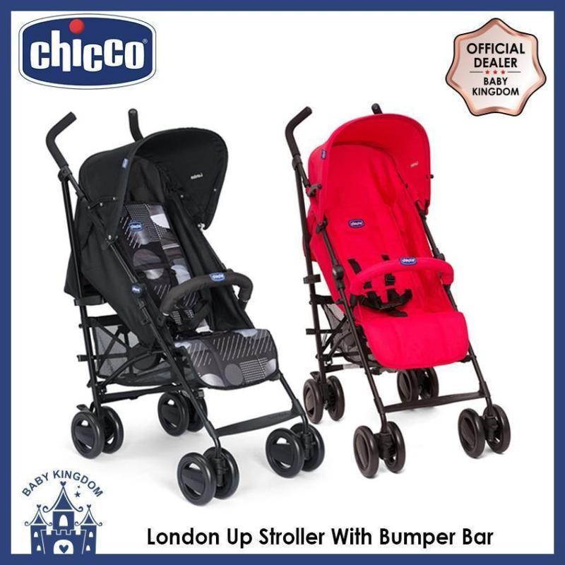 Chicco London Up Stroller With Bumper Bar (2 Colors available) Singapore