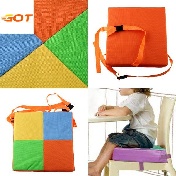 Soft Baby Kids Chair Booster Cushion Highchair Seat Pad High New Safe