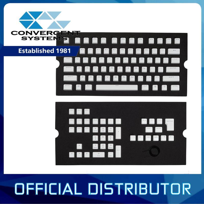 Corsair Gaming PBT Double-shot Keycaps Full 104/105-Keyset Singapore