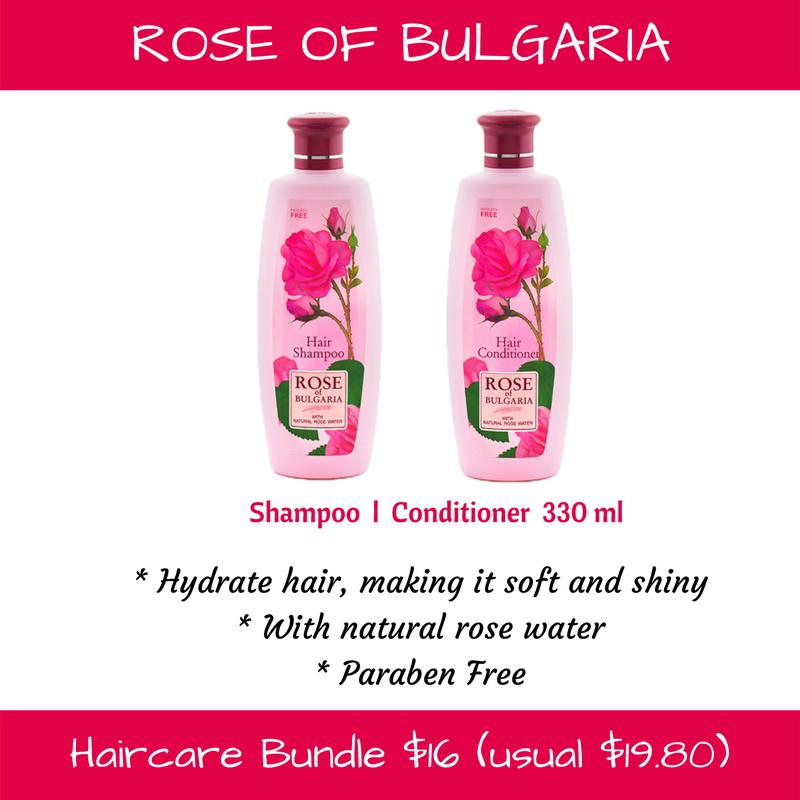 Compare Rose Of Bulgaria Haircare Bundle Prices