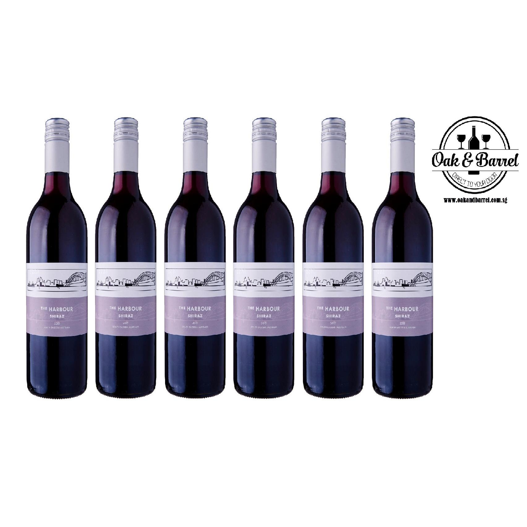 Best Offer The Harbour Shiraz 750Ml X6