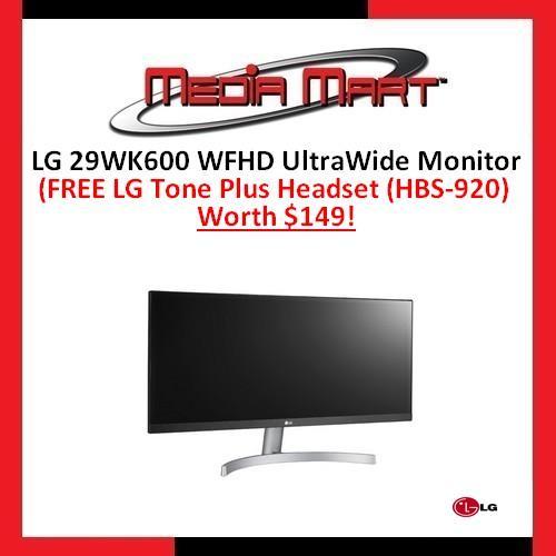 LG 29WK600 WFHD UltraWide Monitor