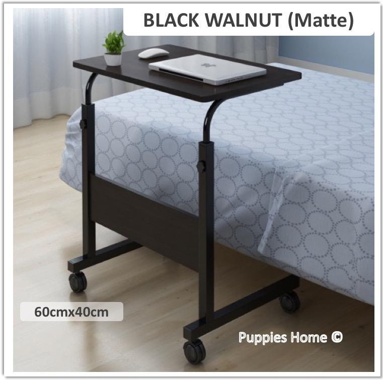 Wheel Laptop Table Study Portable Bed Desk Pc Notebook Lazy Wooden Wood Stand Holder Computer Lap Foldable Riser Adjustable Couch Plastic Furniture Organizer By Puppies Home.