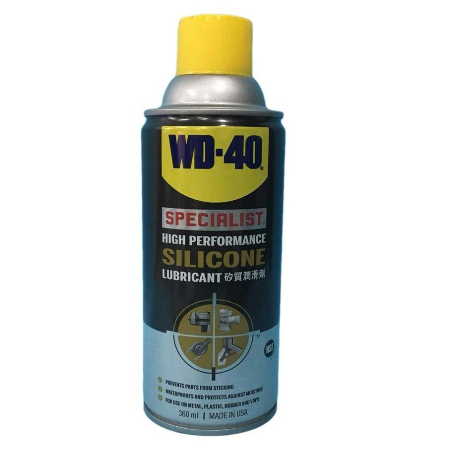 Buying Wd40 Wd 40 High Performance Silicone Lubricant 360Ml