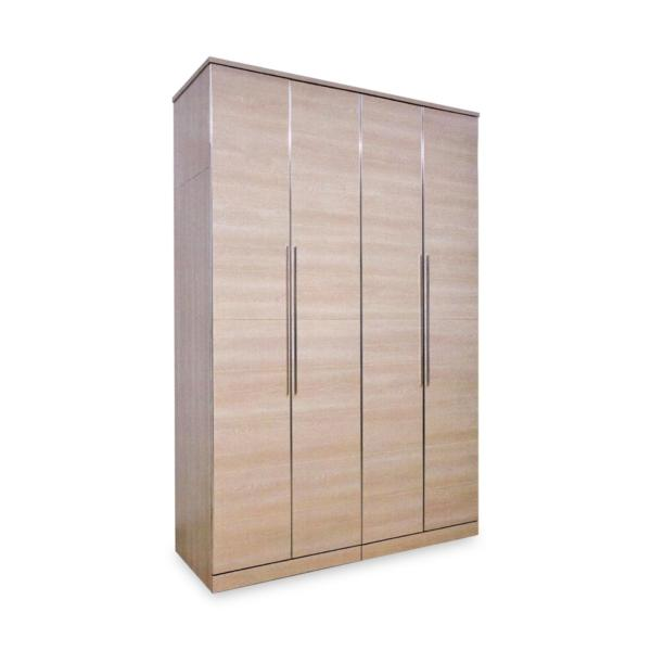 Juana 4 Doors Wardrobe (FREE DELIVERY)(FREE ASSEMBLY)