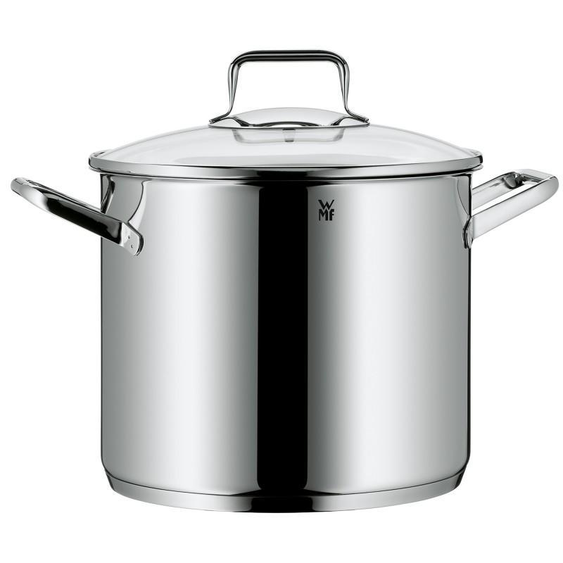 Germany Origional Product WMF 24cm8. 8L Stainless Steel Soup Pot Deep Stewing Pot Stew-pan Pasta Pot Trend Singapore