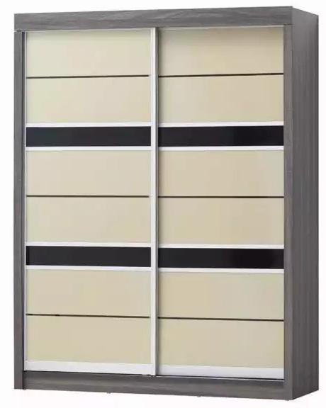 A-STAR 5 FT Sliding Wardrobe Cabinet