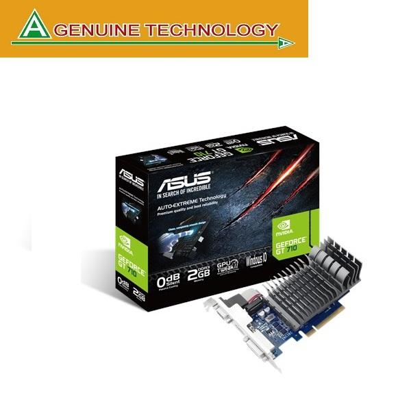 ASUS Radeon R5 230 2GB DDR3 Low Profile Graphics Card For Silent HTPC Build